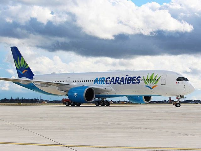 L'A350 d'Air Caraïbes entre en service