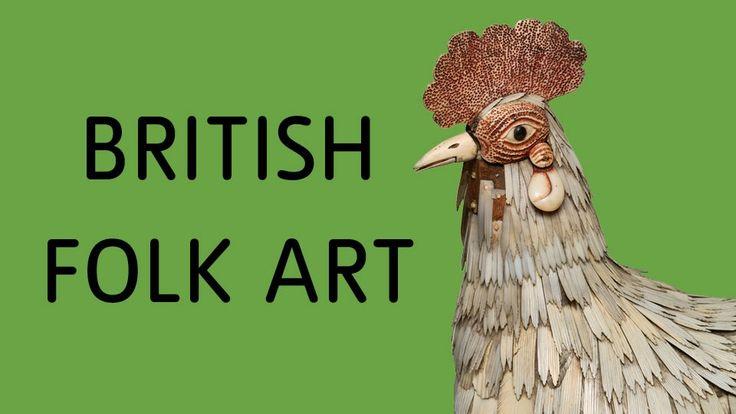 British Folk Art at Tate Britain, hoping it'll give me a push!