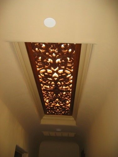 21 Interior Designs with Fluorescent Light Covers Interiorforlife.com Lighted ornamented ceiling