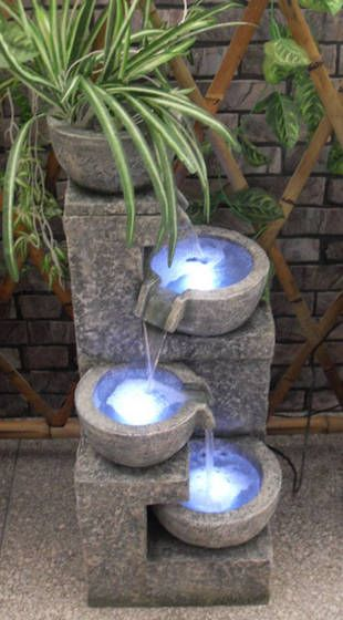 Elegant Solar Garden Fountain