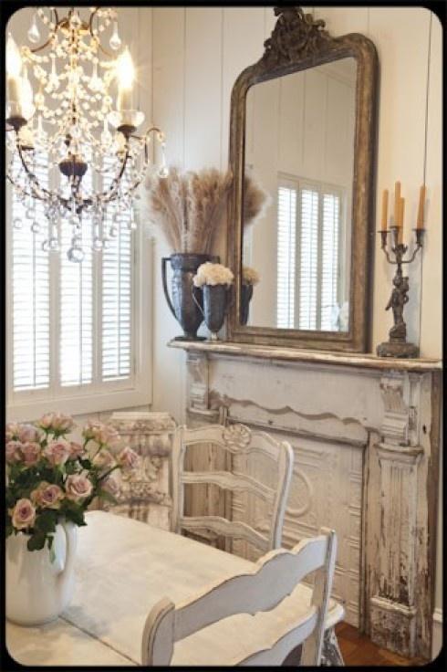 25 beste idee n over brocante eettafels op pinterest idee n voor thuisdecoratie potten - Deco van woonkamer eetkamer ...