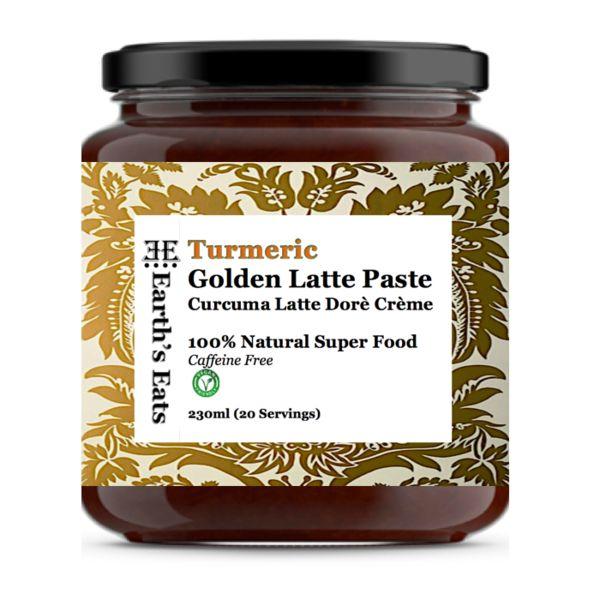 Earth's Eats Tumeric Golden Latte Paste - 230ml