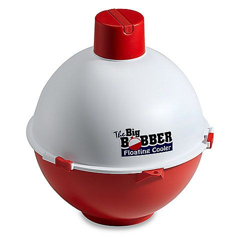 The Big Bobber® Floating Cooler: Don't want to get all the way out of the pool to grab a cold drink? Now, with this floating cooler, you don't have to.