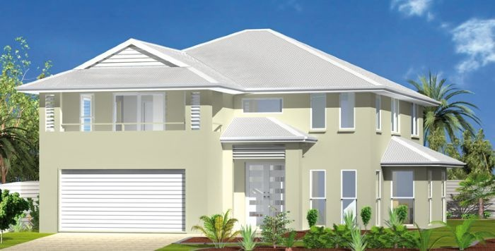 Boulevard: 4 bed, 3 bath, 2816 sqft.  With large lower level living space and secluded upper living areas, the Boulevard is an ideal home for the beach or country hillside allowing you to view spectacular scenery from your second story balcony.