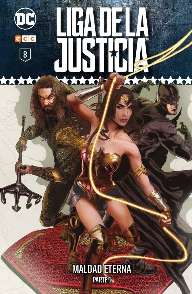 Liga de la Justicia: Coleccionable semanal núm. 08 (de 12)      EDICIÓN ORIGINAL: Justice League núm. 23 USA, Justice League núm. 23. 4 USA, Forever Evil núms. 1 a 2 USA || FECHA PUBLICACIÓN: Marzo de 2018 || GUIÓN: Geoff Johns, Sterling Gates || DIBUJO: David Finch, Ivan Reis, Joe Prado, Szymon Kudranski || FORMATO: Cartoné, 120 págs. A color. Disponible el 06/02/2018 || ISBN: 978-84-17316-16-7