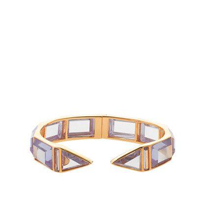 Jennifer Meyer for J.Crew Edith Jeweled Cuff #jewelry