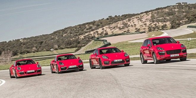 Comparative of all 4 Porsche GTS to dreamWorld Cars Info