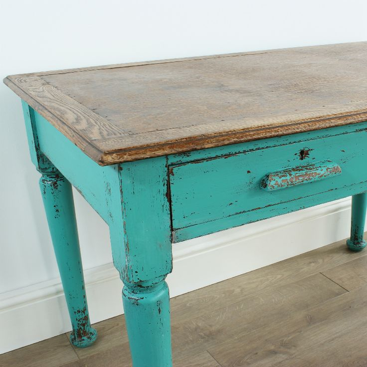 17 Best ideas about Painted Oak Table on Pinterest  Painted tables, Painting oak furniture and ...
