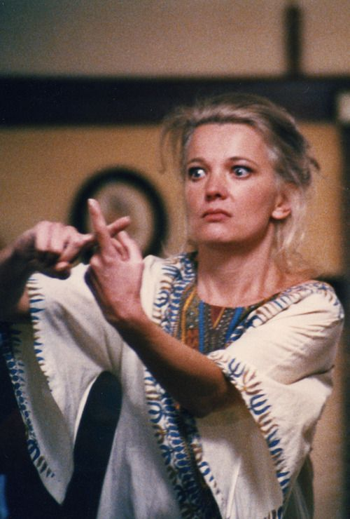 Gena Rowlands in A Woman Under the Influence, her performance is breathtaking