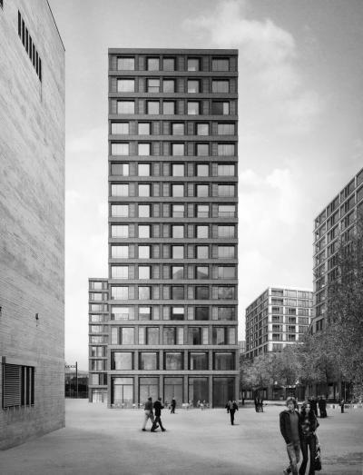 Europaallee Zürich Baufeld F | Boltshauser Architekten, Zürich, Schweiz