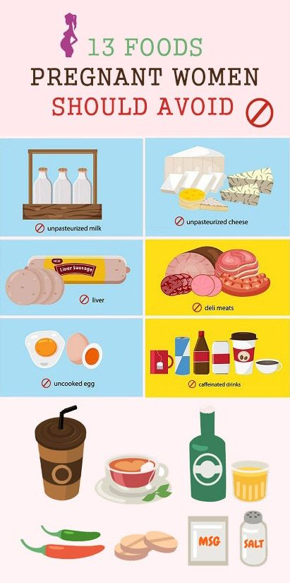 13 foods to avoid during pregnancy