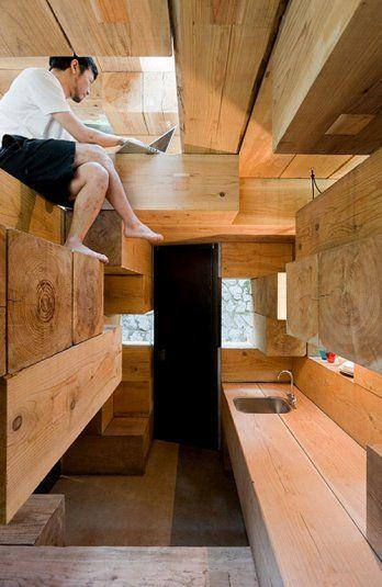Sou Fujimoto /Final Wooden House, Sou Fujimoto Architects, 2008.