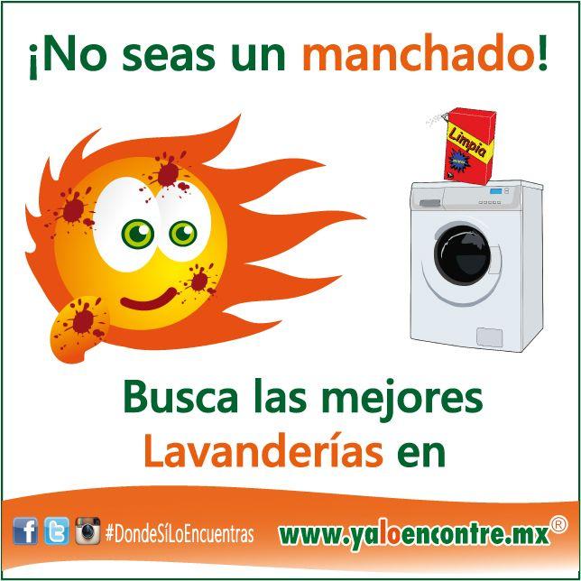 #Servicios #Lavanderías #México Entra a: www.yaloencontre.mx
