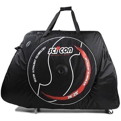 Scicon MTB 26/27.5/29er AeroComfort 2.0 TSA Bike Carry Travel Bag Bicycle Case