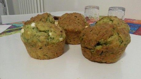 Muffin Feta e Spinaci