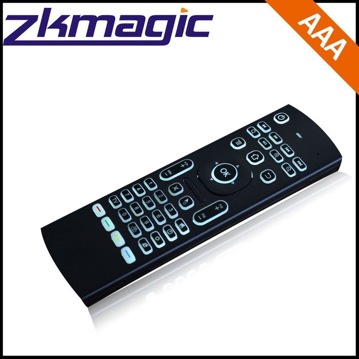 Best Selling Smart Tv Box Accessory Airmouse Remote Control Backlit + IR Learning Function