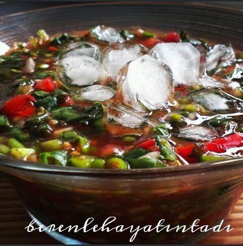 Güney Doğu Anadolu bölgesine ait bir salata Bostana