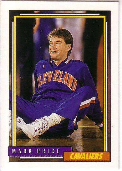 1992-93 Topps CLEVELAND CAVALIERS Team Set (14) MARK PRICE / BRAD DAUGHERTY + #ClevelandCavaliers