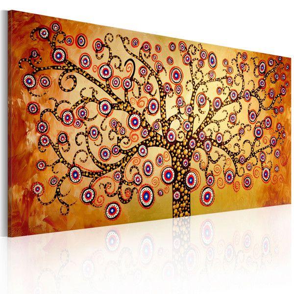 Obraz malowany 120x60 Abstrakcja 92012 - artgeist - Obrazy akrylowe #art #obraz #abstract