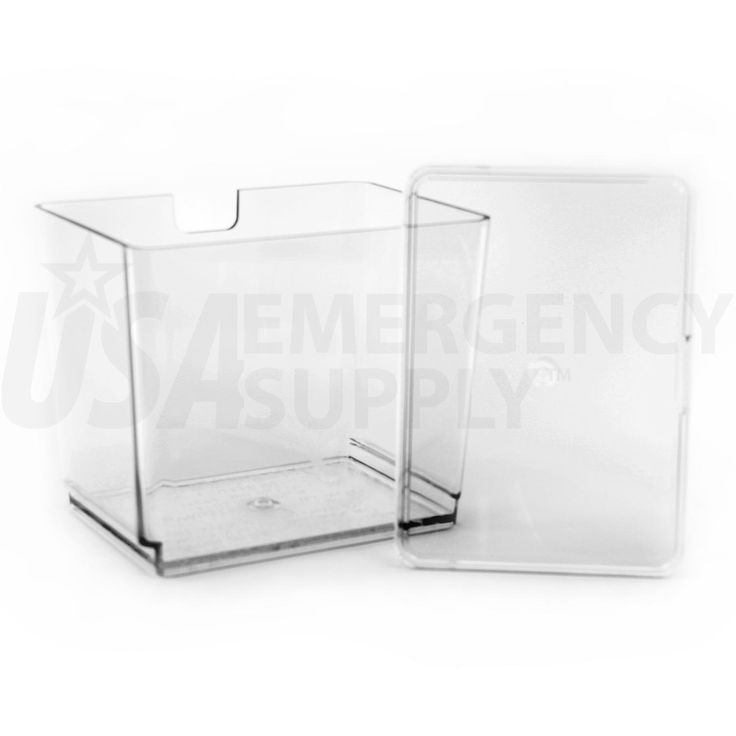 Country Living Grain Mill Clear Polymer Flour Bin With Storage Lid