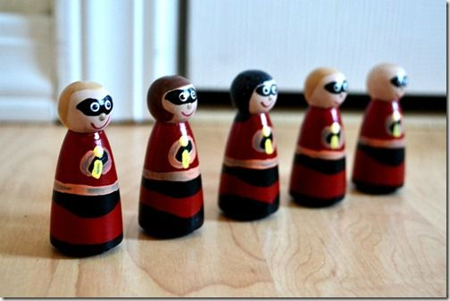 Best Incredibles Toys Reviewed : Best diy toys peg dolls images on pinterest homemade