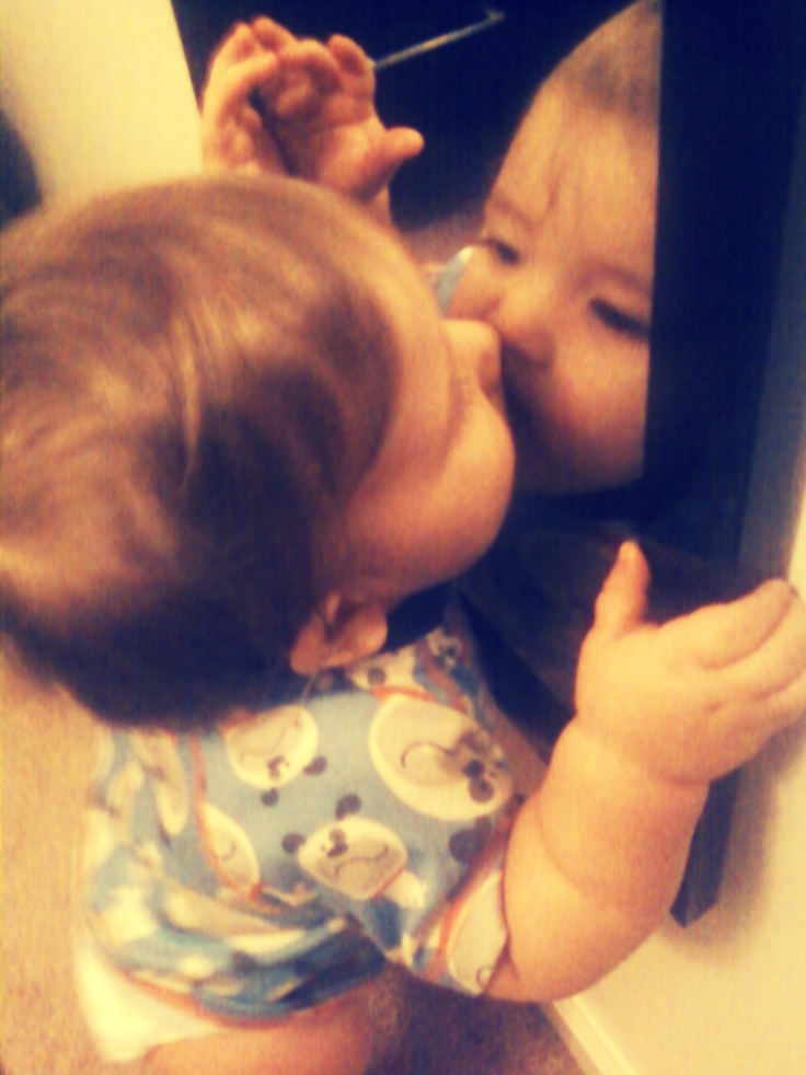 28 best images about kiss the baby on pinterest baby for Mirror kisses