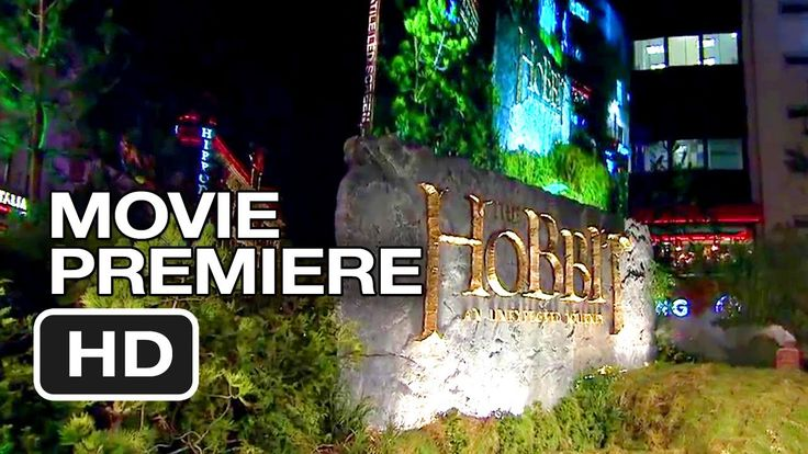 The Hobbit: An Unexpected Journey London Premiere Highlights (2012) HD