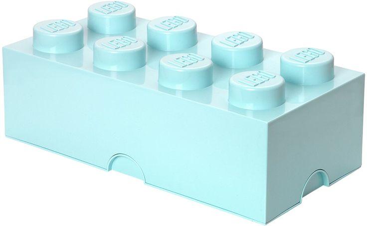 LEGO, Förvaring 8, Design Collection, Aqua Förvaringslådor, korgar & boxar Spara & förvaring Barnrum på nätet hos Lekmer.se
