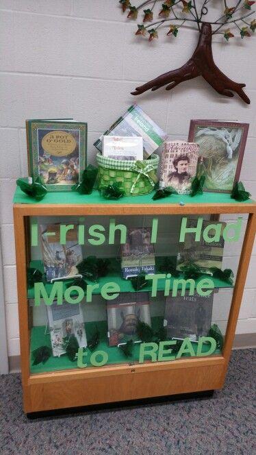 Irish library display