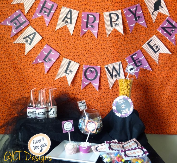FREE Bats and Cats Halloween Printable Party Pack by GYCT