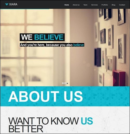 15+ Parallax Premium WordPress Themes