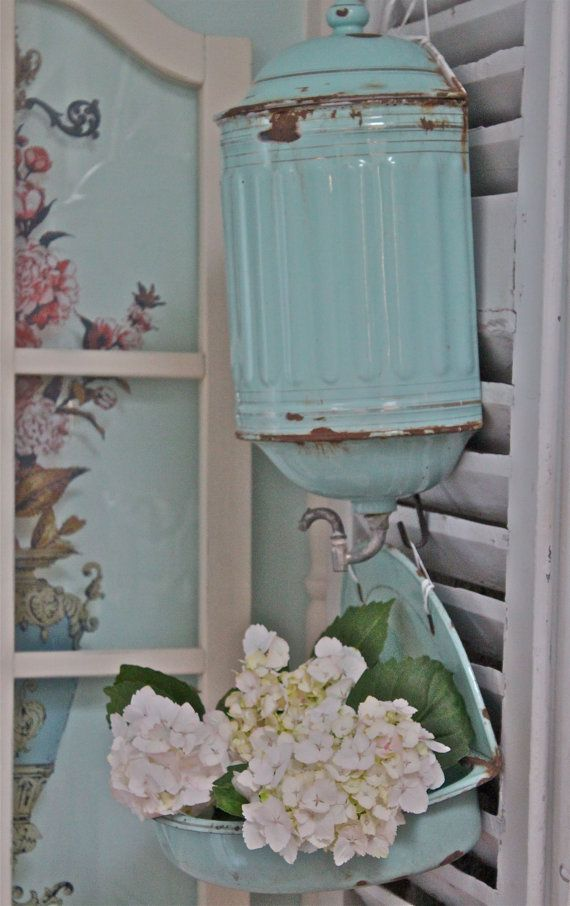 213 best images about french lavabo on for Lavabo shabby chic