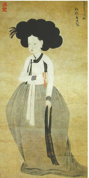 painting by Songsugeosa(松水居士), early 19th century, Korea