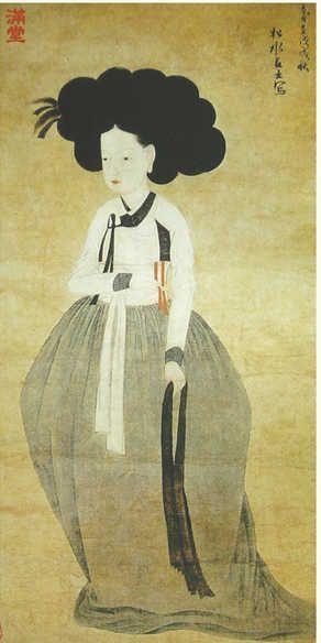 painting by Songsugeosa(松水居士), early 19th century, Korea