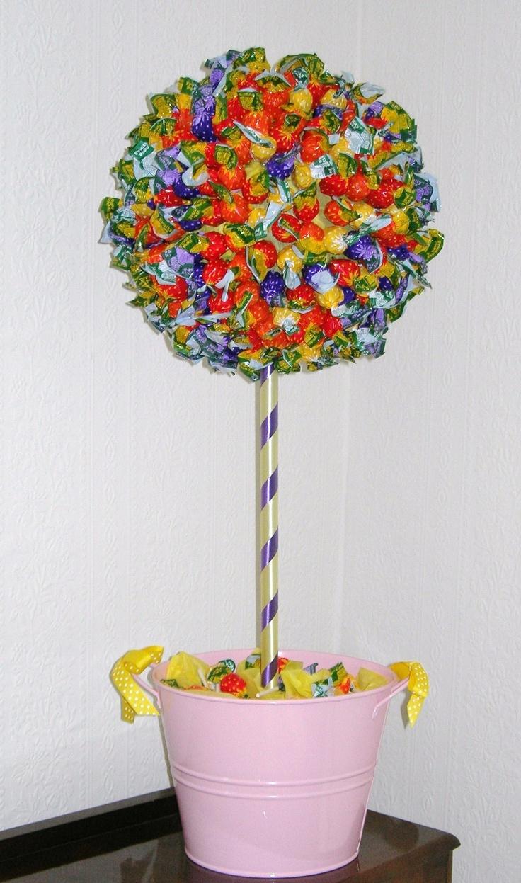 How To Make A Chocolate Bar Sweet Tree