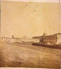 Hacia 1860. Palacio de Liria y Cuartel de Conde Duque. Laurent. Museo de Historia. | by Nicolas1056