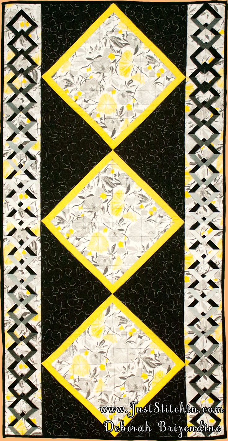 DOUBLE DIAMOND RULER SAMPLE Just Stitchin - My Other Quilts