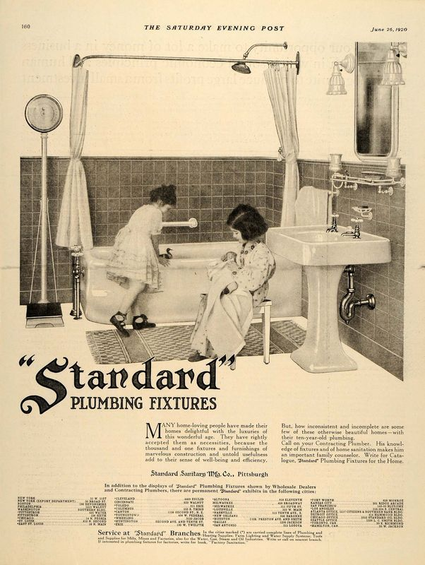 Bathroom Fixtures Pittsburgh 147 best early 1900s bathrooms images on pinterest | art deco art
