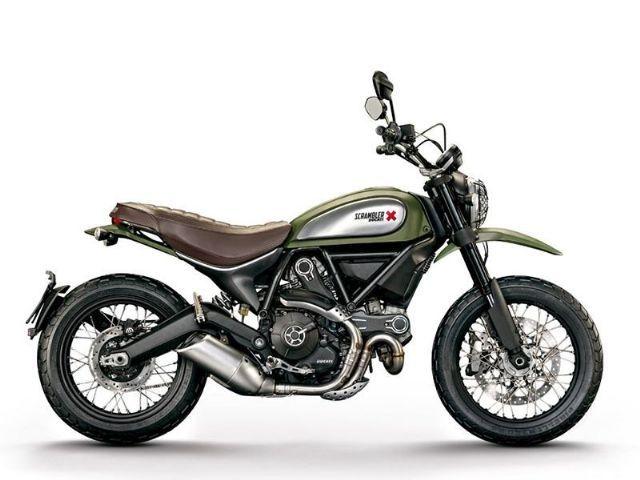 2016 Ducati Scrambler Urban Enduro Standard , Olive Green 1