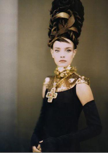 Paolo RoversiPaolo Roversi, Italian Vogue, Art Photography, September 2006, Natalia Vodianova, Fashion Art, Nataliavodianova, Black Gold, Fashion Photography