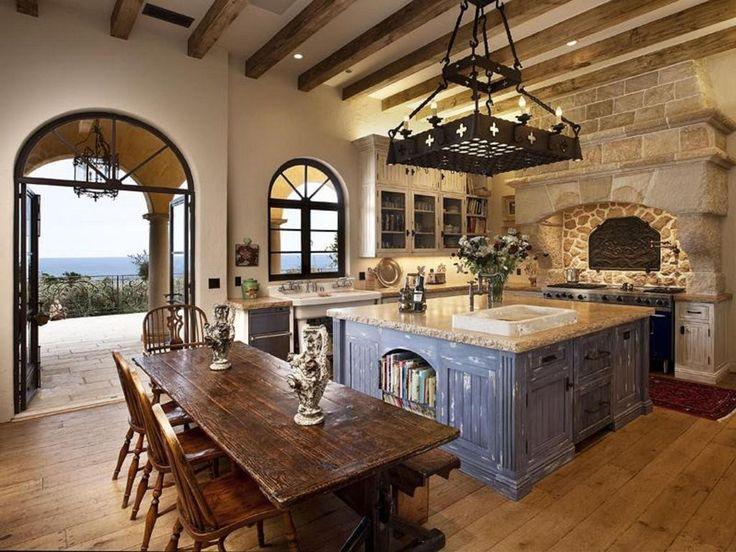 minimalist mediterranean style kitchen design | Ginkofinancial