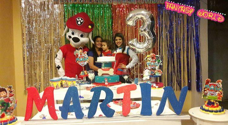 Un lindo día super divertido en el cumpleaños de MARTIN! Junto con Marshall de Patrulla Canina Animaciones FANTASY WORLD  Contáctanos   Whatsapp: 0978803426 Llamadas: 0987256710  #AnimacionesFantasyWorld #animación #caritaspintadas #fiestasinfantiles #FeriaDelParque #eventosgye #felizcumpleaños #follow4follow #minnie #frozen #combos #capitanamerica #mickey #descendientes #eventosgye #combos #animación #perrobombero #fiestatematica #concursos #halloween #marshall #fiestasdeniños #disney…