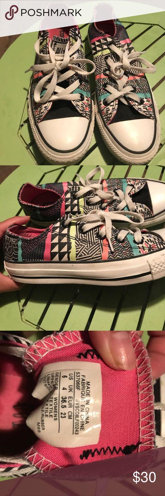 Converse Fun bright neon converse Shoes Sneakers