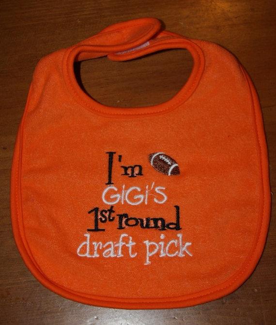 Im Gigis 1st round draft pick by KenaKreations on Etsy, $10.00