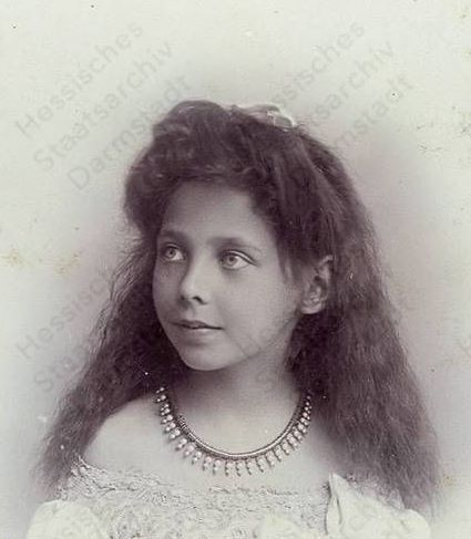 Princess Elisabeth of Hesse and by Rhine (1895-1903)