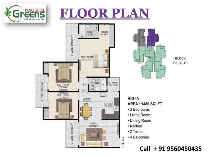 Panchsheel Greens Special Payment plan 50:50 Call + 91-9560450435
