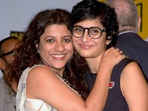 Bollywood Directors and Producers  Kiran Rao and  Zoya Akhter