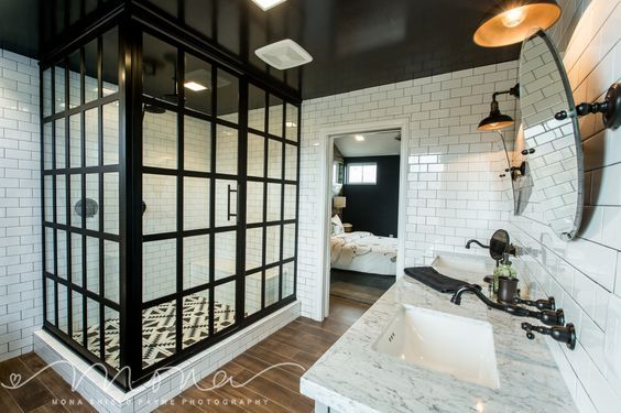 Check out these stunning Modern Farmhouse Bathrooms full of inspiration and idea...