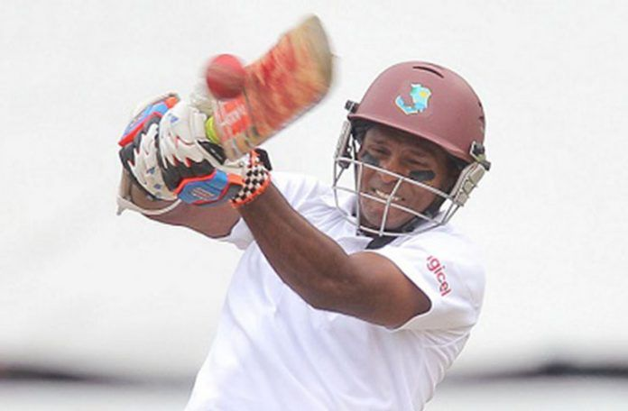 Chanderpaul strokes a magnificent109 to rescue guyana Jaguars on final day