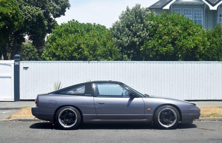 https://flic.kr/p/224D9D1 | 1991 Nissan 200SX | The Cars of Christchurch, New Zealand